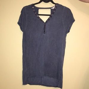 V-neck shirt with lower back CloudChaser  size M